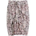 Draped pattern skirt