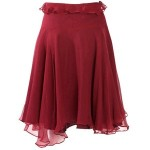 Evie Belle burgunday skirt