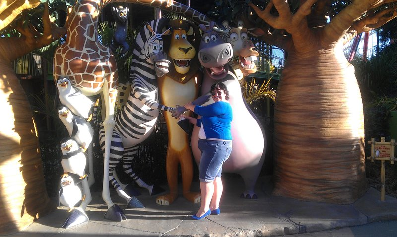 Lisa at Dreamworld